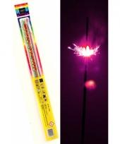 Neon sterretjes 45 cm 4 stuks