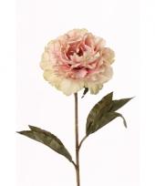 Nep pioenroos roze 67 cm