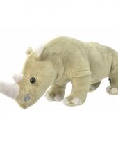Neushoorn knuffeltje 30 cm 10082640