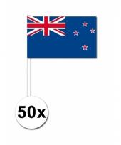 Nieuw zeeland zwaai vlaggetjes 50 stuks