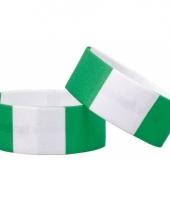 Nigeria fan armbandje