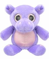 Nijlpaard knuffeltje 18 cm