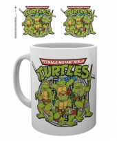 Ninja turtles koffiemok 285 ml