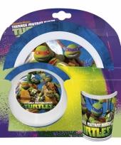 Ninja turtles ontbijtset