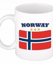 Noorse vlag koffiebeker 300 ml