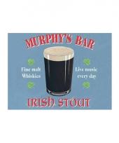 Nostalgisch bord murphys bar