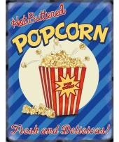 Nostalgisch bord popcorn