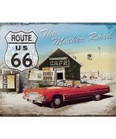 Nostalgische wanddecoratie klassieke auto