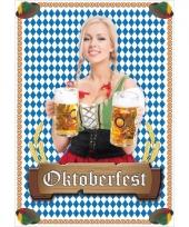 Oktoberfest aankondigings poster