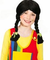Oktoberfest kinderpruik zwart