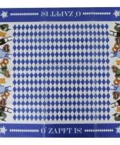 Oktoberfest thema tafelkleed 80 x 80 cm