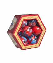 Onbreekbare spiderman kerstballen 10067982