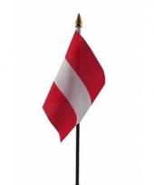 Oostenrijkse landenvlag op stokje