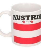 Oostenrijkse vlag koffiebeker