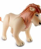 Opblaas leeuw 48 x 80 cm