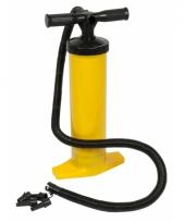 Opblaasartikelen pomp geel