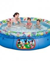 Opblaasbaar zwembad mickey mouse