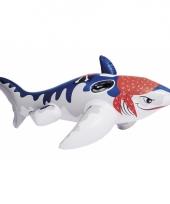 Opblaasbare haai in piraten thema 173 cm