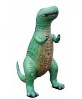 Opblaasbare levensechte t rex 152 cm