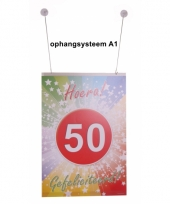 Ophang materiaal a1 poster