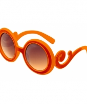 Oranje brillen dame edna 10046825
