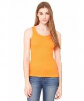 Oranje dames topje bella