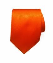 Oranje dassen van 100 polyester