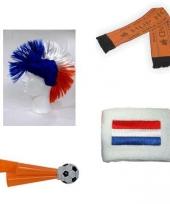 Oranje fan pakket