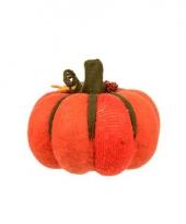 Oranje halloween pompoen 20 cm