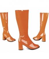 Oranje hippie laarzen
