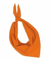 Oranje kariban zakdoeken