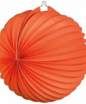 Oranje lampionnen 22 cm