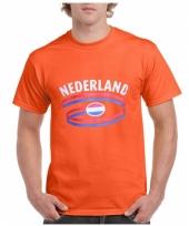 Oranje nederland t-shirt unisex