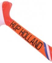 Oranje opblaasbare hamer holland