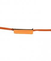 Oranje reis portemonnee riem 80 107 cm