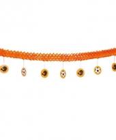 Oranje supporter slinger 4 meter