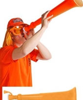 Oranje supporters toeter
