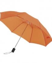 Oranje tassen paraplu 85 cm