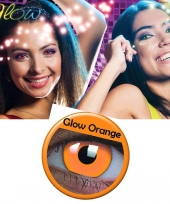 Oranje uv kleurlenzen