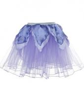 Paars verkleed petticoat voor meiden