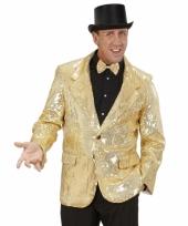 Pailletten colbert goud