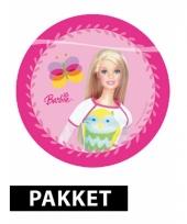 Pakket voor barbie feestje