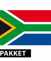 Pakket zuid afrika feestartikelen