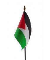 Palestijnse landenvlag op stokje