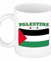Palestijnse vlag koffiebeker 300 ml
