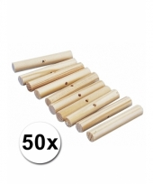 Palmhoutjes om mee te knutselen 47 mm 50 st