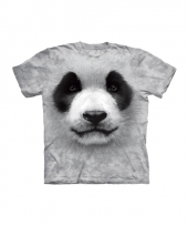 Panda face shirt the mountain