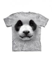Panda face shirt the mountain