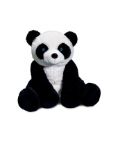 Pandabeer knuffel zittend 30 cm 10061288