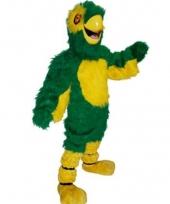 Papegaai mascotte luxe